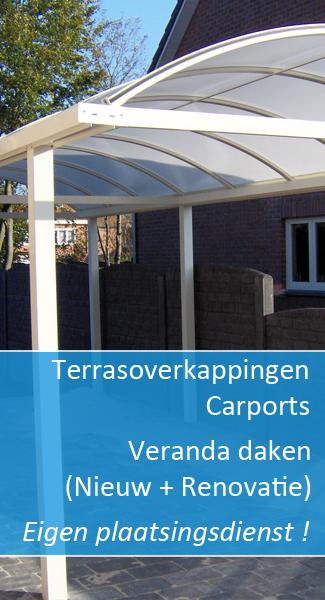 Terrasoverkappingen Carports Veranda Renovaties